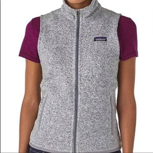 Patagonia Better Sweater Vest Gray Sz S
